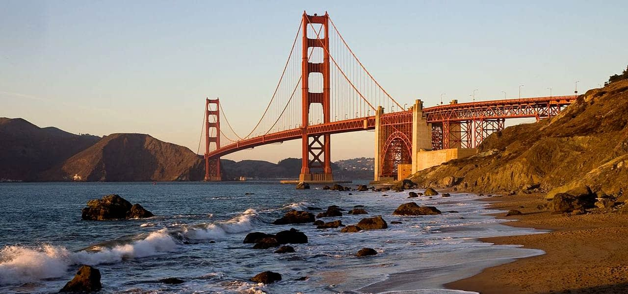 San Francisco California Baker Beach