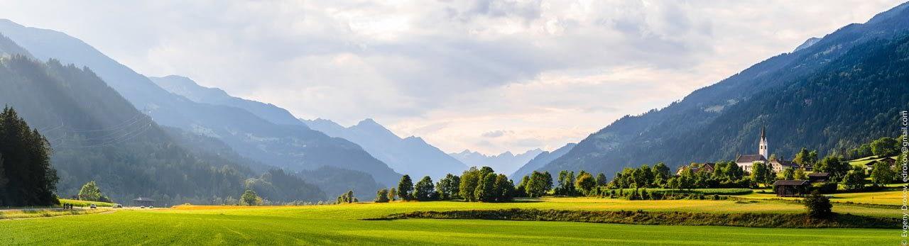 Austrian Valley, Tirol Alps