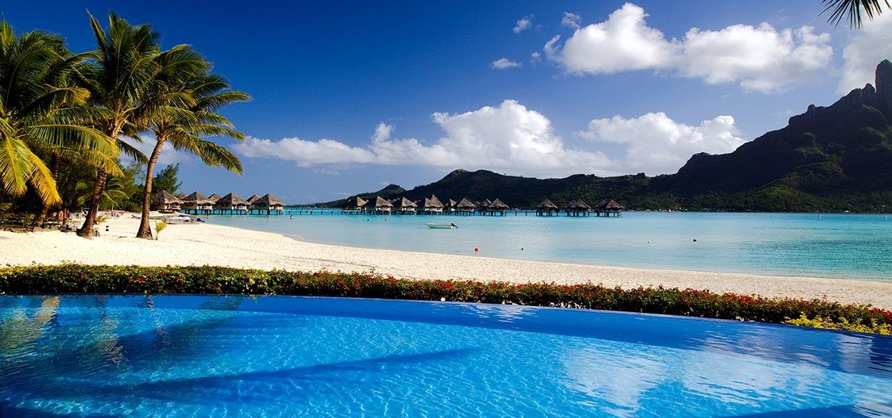 romantic destinations for the newlywed - Bora Bora French Polynesia