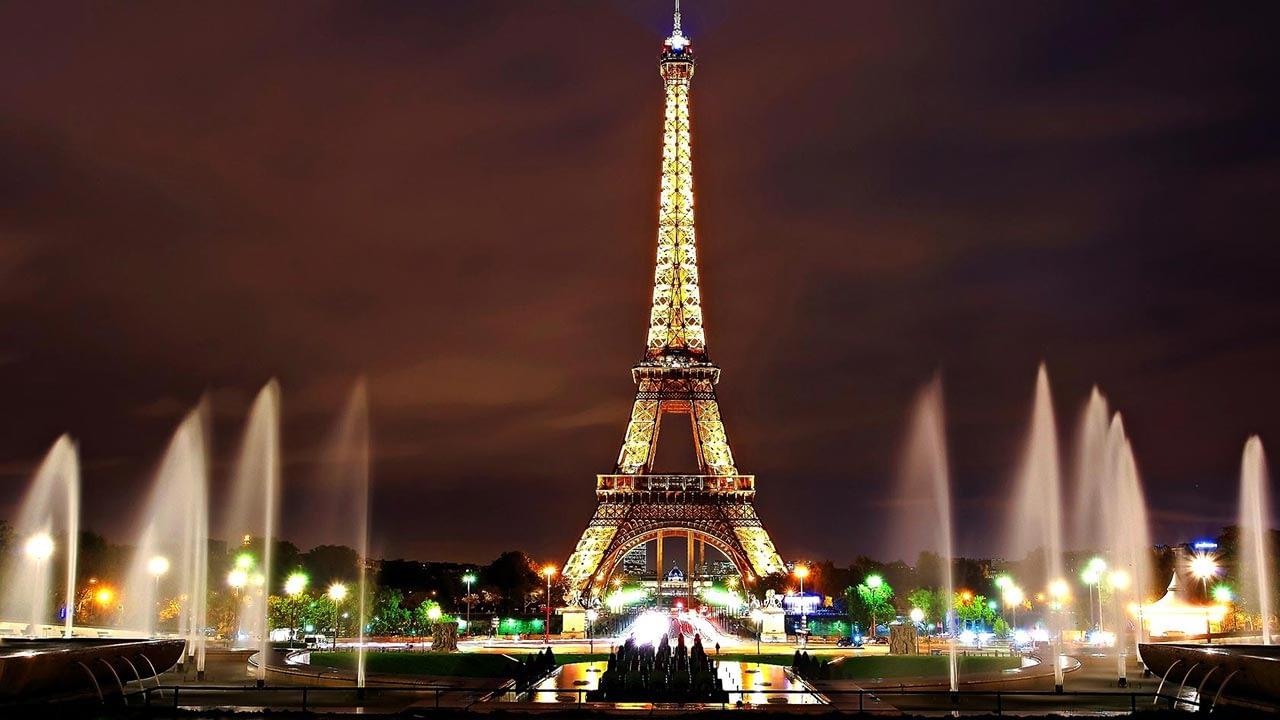 Romantic Destination Paris France