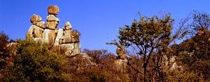 Matobo National Park Balancing Rocks formation