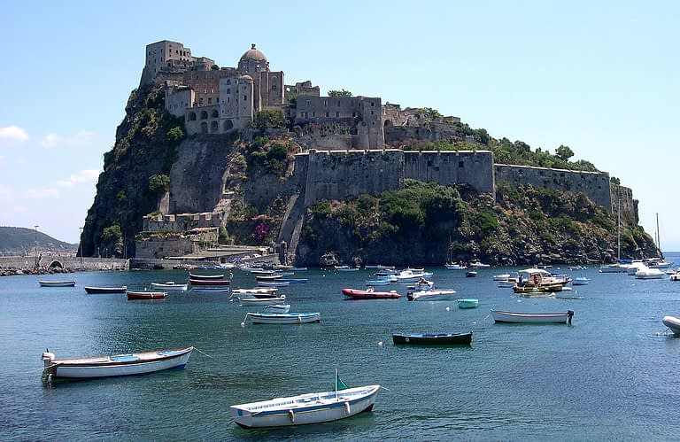 Aragonese Castle Ischia, Italy
