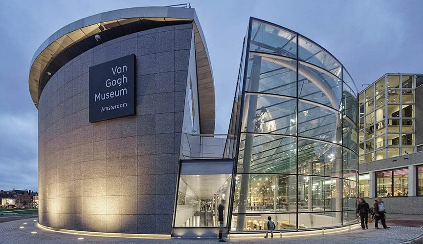 Van Gogh Museum Amsterdam Netherlands